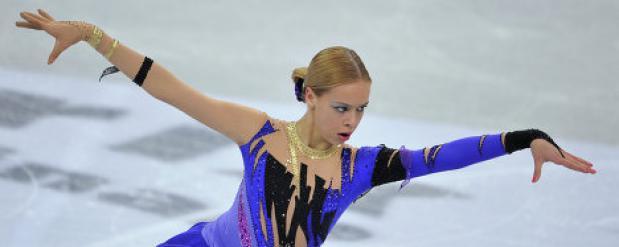 На этапе Гран-при по фигурному катанию в Москве второе место заняла Анна Погорилая