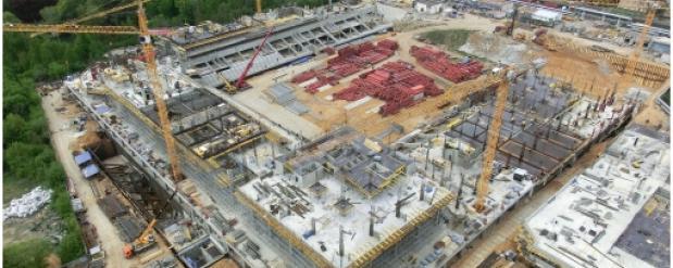 Стадион ЦСКА в Москве достроят в конце этого года