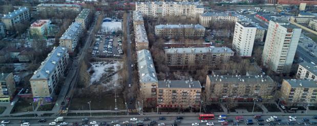 Собянин поддержал идею строительства деревянных домов на месте пятиэтажек