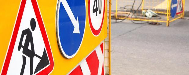 До 30 октября на двух участках дорог в Москве будет действовать ограничение движения