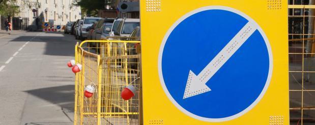 До 1 ноября на нескольких участках в районе Красной Пресни будет ограничено движение