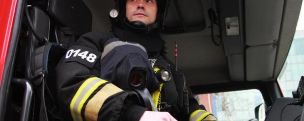 При пожаре в девятиэтажном доме на северо-востоке Москвы пострадали два человека