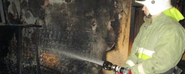 Один человек погиб при пожаре на юго-западе Москвы