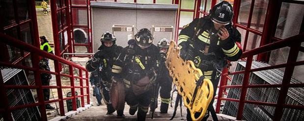 Московские пожарные провели успешную учебную тревогу в детском саду Люберец