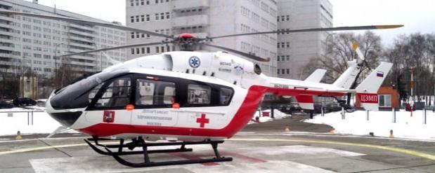 Вертолеты санавиации во время ЧМ-2018 заступят на круглосуточное дежурство