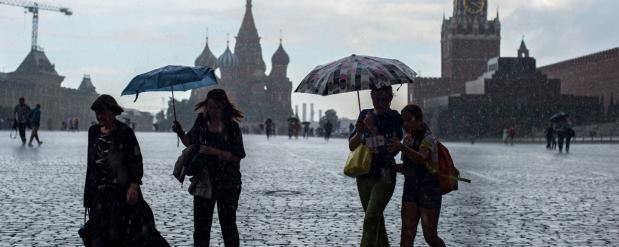 В столице наконец-то закончатся дожди