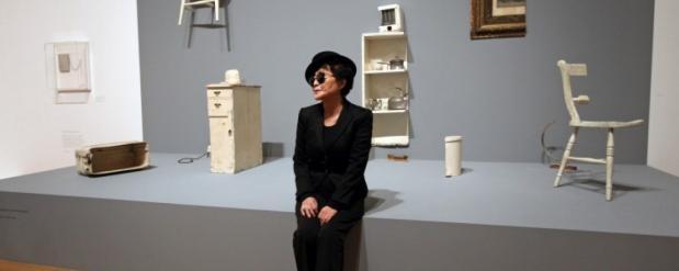 Масштабная выставка Йоко Оно открывается в Москве