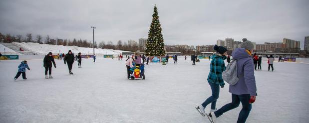 На северо-западе Москвы откроется более 70 катков